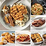 Easy Meals Sampler from Omaha Steaks (Chicken Fried Steaks, Italian Chicken Fingers, Meat Lover's Lasagna, Beef Shepherd's Pie, Homestyle Meatloaf, Slow Cooker Meal: Chicken and Dumplings, and more)