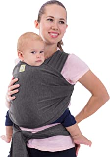 Baby Wrap Carrier - All in 1 Stretchy Baby Sling - Ergo Carrier Sling - Baby Carrier Wraps - Baby Carriers for Newborn, In...