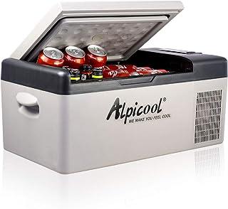 Alpicool C15 Portable Refrigerator 16 Quart(15 Liter) 12 Volt Fridge Freezer for Car,..