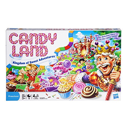 Candy Land Kingdom of Sweet Adventures Board Game for Kids Ages 3 and Up (Amazon Exclusive) (Toy)