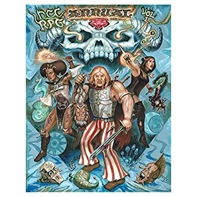 Spoken about For half a decade in hoary Whispers, at long last Goodman Games brings you: the DCC RPG Annual. Much of the material for the DCC Annual was written between 2012 and 2014, when the original need was perceived. In many ways, It springs for...