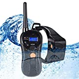 WOLFWILL 100% Waterproof Rechargeable Humane Remote Dog Training