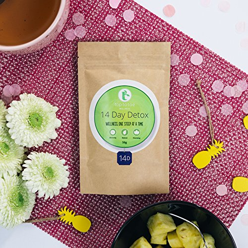 Top to Toe Wellness - 14 Day Detox Tea | Best 100% Natural Weight Loss Tea | Cleanses Digestive System, Promotes Slimming and Reduces Bloating | with Dandelion and Milk Thistle | Loose Leaf 49 Grams 4