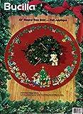Bucilla'Christmas Teddy Bears' Felt Applique Tree Skirt Kit 83136