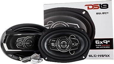 """DS18 SLC-N69X Coaxial Speaker – 6×9"""", 4-Way Speaker, 260W Max Power, 65W.."""