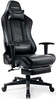 GTRACING Gaming Chair with Footrest Big and Tall Office Executive Chair Heavy Duty..