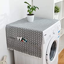 2PCS Anti-Slip Washer And Dryer Top Covers, Fridge Dust Cover, Washing Machine Top Cover..