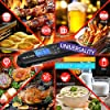 [Latest 2020] Meat Food Thermometer for Grill and Cooking, 2S Best Ultra Fast Instant Read Waterproof Digital Kitchen Thermometer Probe for Grilling, BBQ, Baking, Candy, Liquids, Oil #5