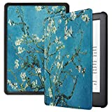 Robustrion Ultra Slim Smart Flip Case Cover for All New 6' Amazon Kindle 10th Generation 2019 Cover - Aqua