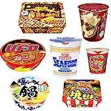 Nissin Japanese YAKISOBA Ramen Udon Soba 3 pieces set Cup noodles Seafood