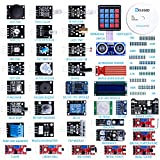 ELEGOO 37-in-1 Kit V2.0 Sensor Module with Complete and Accessible Tutorial CD Compatible with Arduino IDE, Raspberry Pi