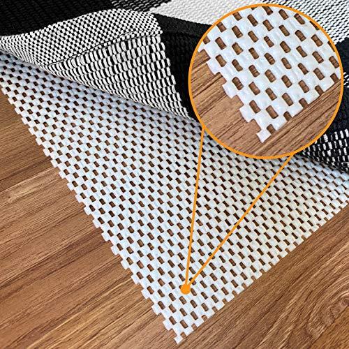 Non-Slip Rug Pad Gripper - 5 x 7 Ft Anti Skid Carpet Mat, Provides Protection for Hardwood Floors...