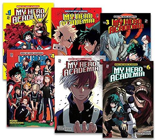 Kit My Hero - Volumes 1 à 6