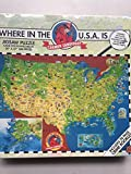 Where in the Usa Is Carmen Sandiego 300 Piece Puzzle