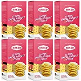 BAKED Classic Snickerdoodle Cookie Baking Mix. Makes 24 cookies, just add Butter, Egg, & Milk. Fun from start to finish. (Pack of 6)