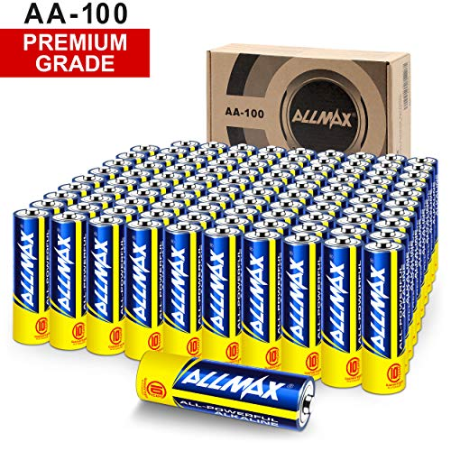 ALLMAX All-Powerful Alkaline Batteries -...