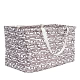 Household Essentials 2214 Krush Canvas Utility Tote | Reusable Grocery Shopping Bag | Laundry Carry...