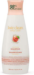 Live Clean Apple Cider Clarifying Shampoo, 350 mL