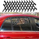 Kangkang Pet Dog Travel Car Window Grill Vent Ventilator Guard Mesh Security Lattice Telescopic Fence 24111cm