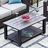 Grand Patio Patio Furniture Coffee Table Outdoor Side Table