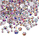 3456 Piezas de Cristales AB de Uña Diamantes de Imitación