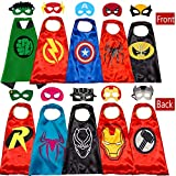 Superhero Capes and for Kids Halloween Cosplay Double Side Capes Superhero Toy Kids Best Gifts