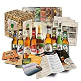 Idée cadeau Spécialités de bière d'Allemagne pour homme INCL Dessous de verre coffret cadeau...