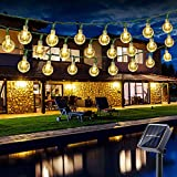 Guirlande Lumineuse Extérieur Solaire, BrizLabs 6.5M 30 LED Guirlande...
