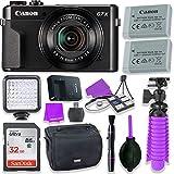 Canon PowerShot G7 X Mark II Camera w/ 1 Inch Sensor & tilt LCD Screen - Wi-Fi & NFC Enabled (Black)...