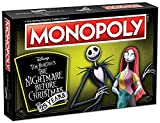 Monopoly Disney Nightmare Before Christmas 25 Years Board Game | 25th Anniversary Collector's...