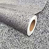 Instant Granite Luna Pearl Counter Top Film 36' x 216' Self-Adhesive Vinyl Laminate Counter Top Contact Paper Faux Peel and Stick Self Application