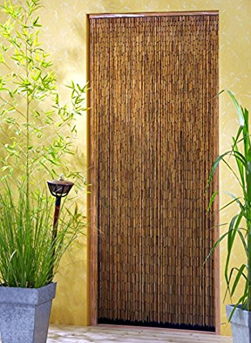 Leguana Handels GmbH Bambusvorhang Türvorhang Saigon XL 115x220cm (Breite x Höhe)