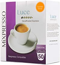 Mixpresso Decaf Single-Cup Coffee Pods | Single Serve Espresso Coffee Capsules For..