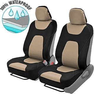 Motor Trend AquaShield Car Seat Covers, Front – 3 Layer Waterproof Neoprene Material..