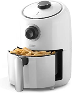 Dash DCAF150GBWH02 Compact Air Fryer Oven Cooker with Temperature Control, Non Stick Fry..