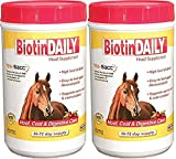 (2 Pack) Biotin Daily Hoof Care Supplement