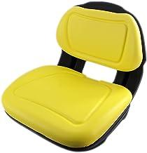 E-AM136044 DirectFit Yellow Seat for John Deere X530, X520, X500, X360, X340, X324, X320,..