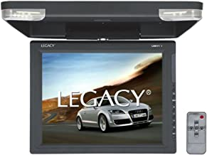Legacy Flipdown Car Overehead Roof Mount -High Resolution All-in-one Display Monitor,..
