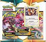 Pokemon Epée et Bouclier-Ténèbres Embrasées (EB03) : Pack 3 boosters,...