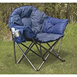 Westfield Outdoor Portal Oversized Folding Club Camp Chair - 500-Lb. Capacity, Blue
