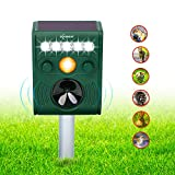 ZOVENCHI 11, Outdoor Solar Animal Repeller with LED Flash, GH-191B