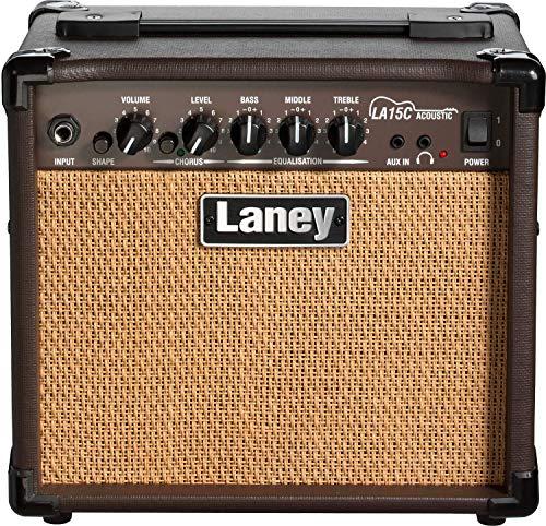 Laney LA15C LA Series Compact Acoustic Guitar Practice Amplifier with Chorus