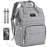 Diaper Bag Backpack, Mokaloo Large Baby Bag, Multi-functional Travel Back Pack, Anti-Water Maternity...