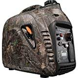 Westinghouse iGen2500 Super Quiet Portable Inverter Generator TrueTimber Kanati Camouflage 2200 Rated & 2500 Peak Watts, Gas Powered, CARB Compliant