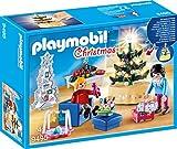 Playmobil Famille et Salon de Noël, Enfants Unisexes, 9495
