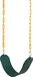 """REEHUT Swing Seat Heavy Duty with 66"""" Chain Plastic Coated, Swing Set Accessories.."""