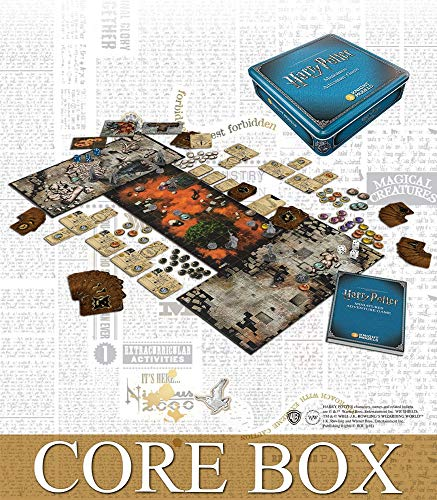 Knight Models HPMAG01 Harry Potter Miniatures Adventure Game Core Box, Mixed Colours