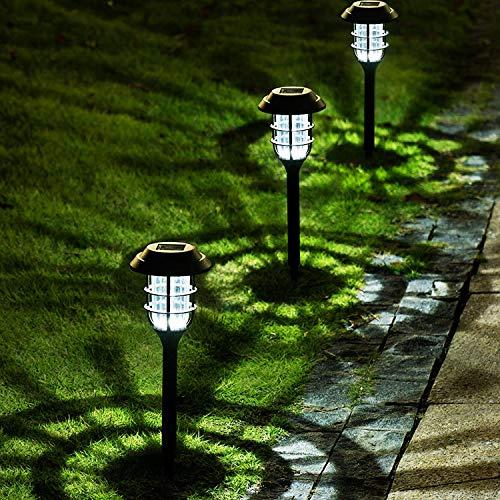 Solpex 8 Pack Solar Pathway Lights Outdoor, Solar Powered Garden...