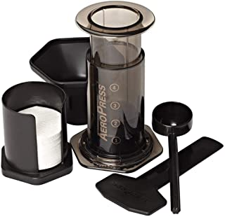 AeroPress Coffee and Espresso Maker – Makes 1-3 Cups of Delicious Coffee without..