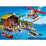 Playmobil 5039 - Cabane du pêcheur avec hydravion et orque